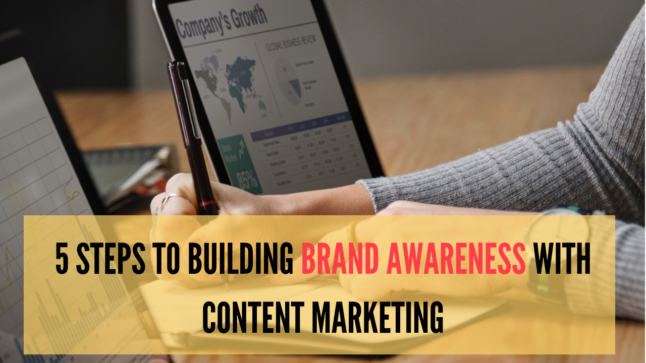 5 Steps To Building Brand Awareness With Content Marketing