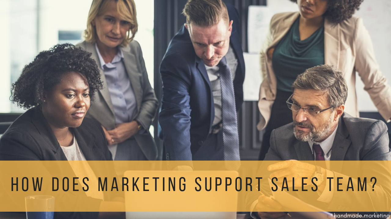 9 Ways Content Marketing Can Support Your Sales Team | HandmadeSEO