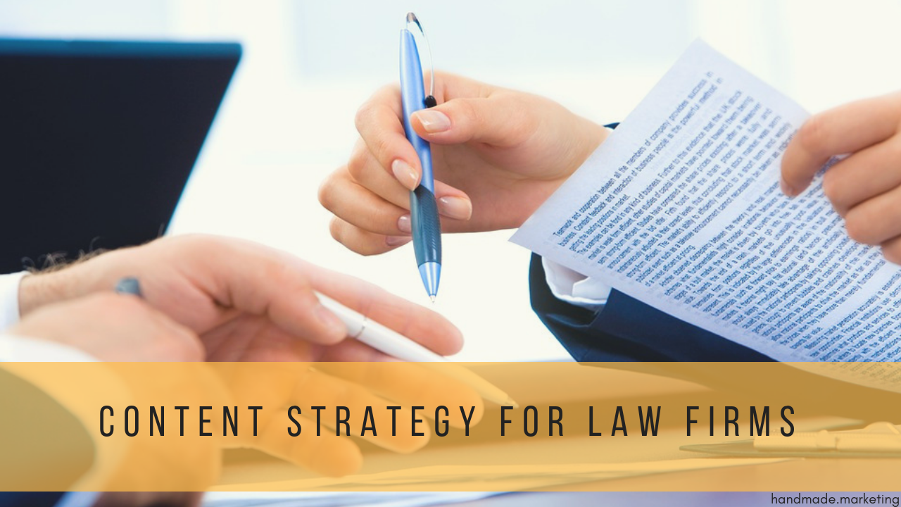 5 Steps to a Successful Content Strategy for Law Firms | Handmade SEO