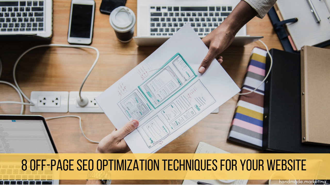 off page optimization techniques | Handmade SEO