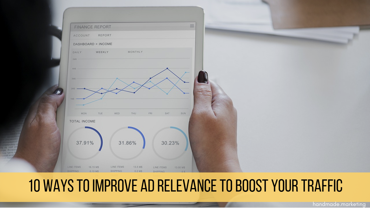 how to improve ad relevance | Handmade SEO