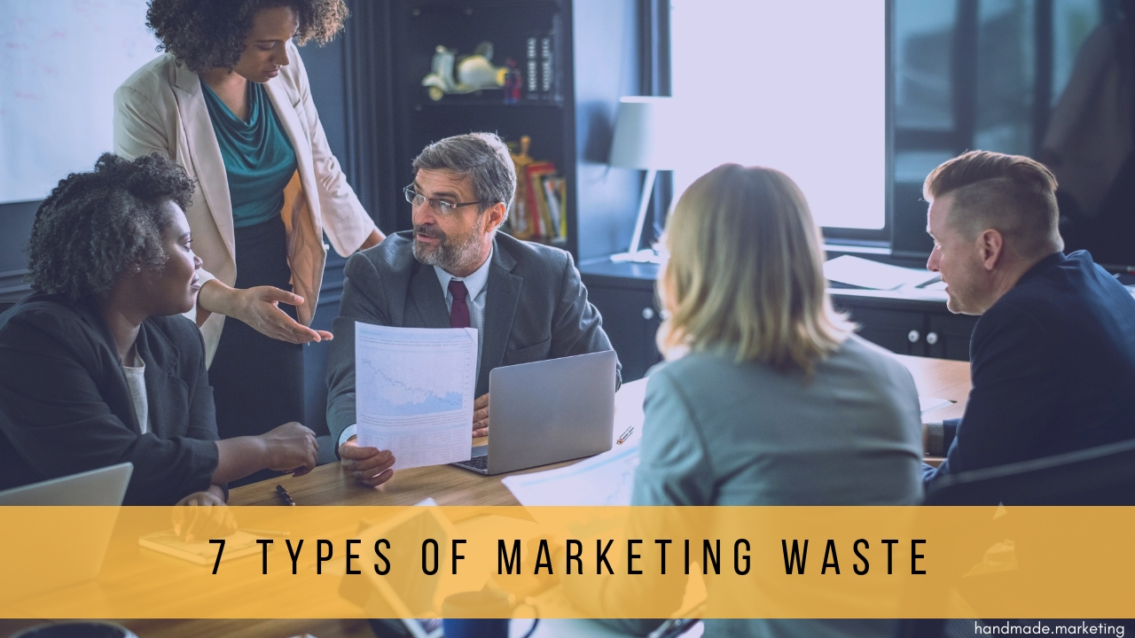 7 Types of Marketing Waste & How They Affect You | Handmade SEO